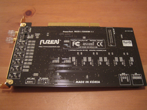 Back of Soundcard