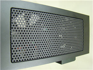 Side mesh grill