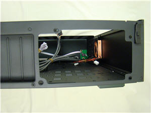 Rear power supply mount