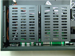 Hard drive cages