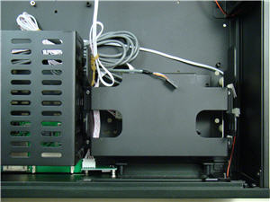 Optical drive cage