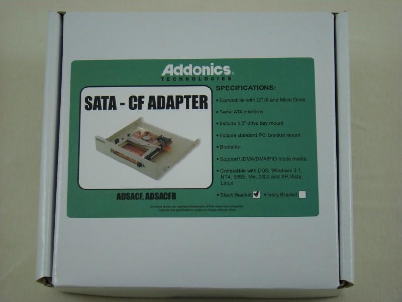 SATA Adapter Boxed