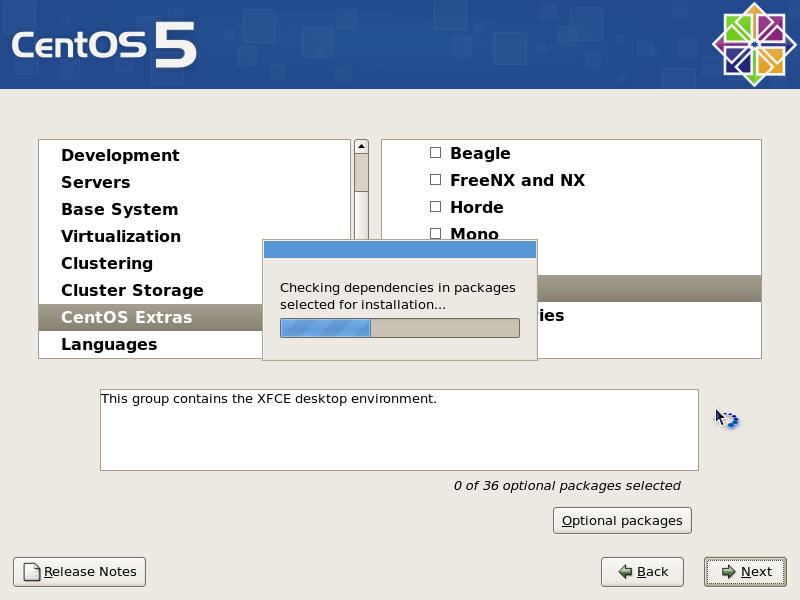 Checking Package Dependencies