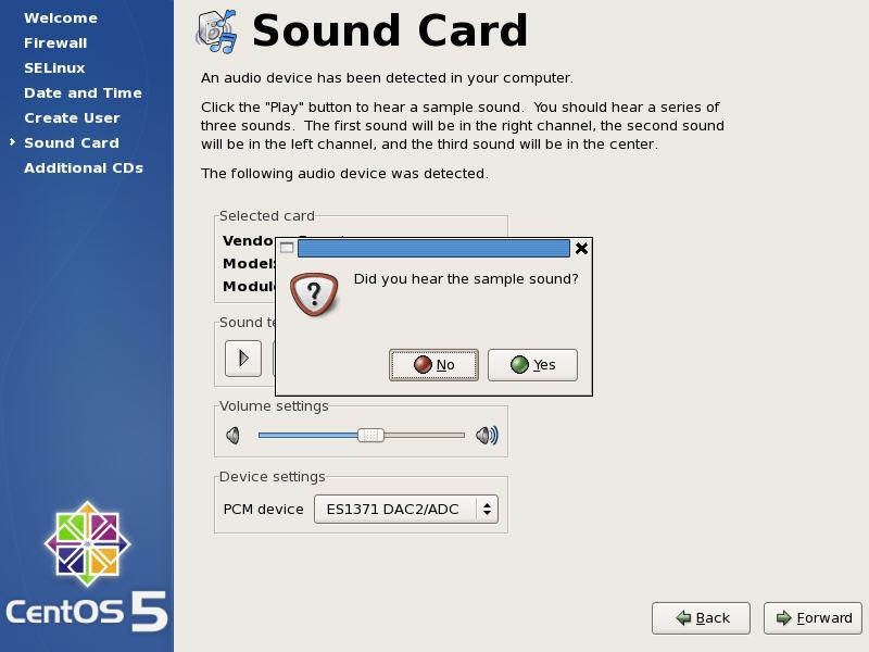 Sound Card Test