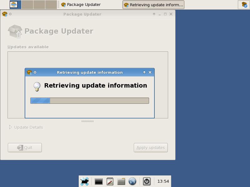 Retrieving Update Information