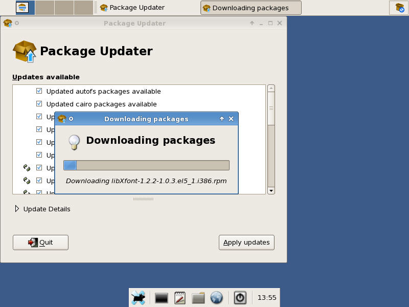 Downloading Packages