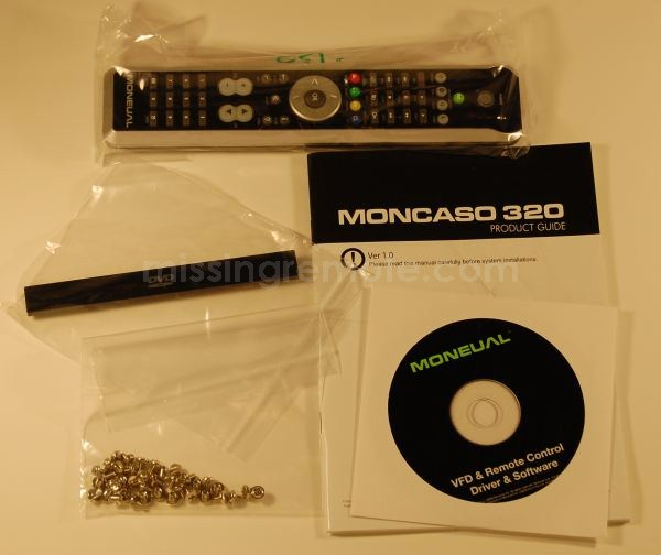 Moneual MonCaso 320 Accessories
