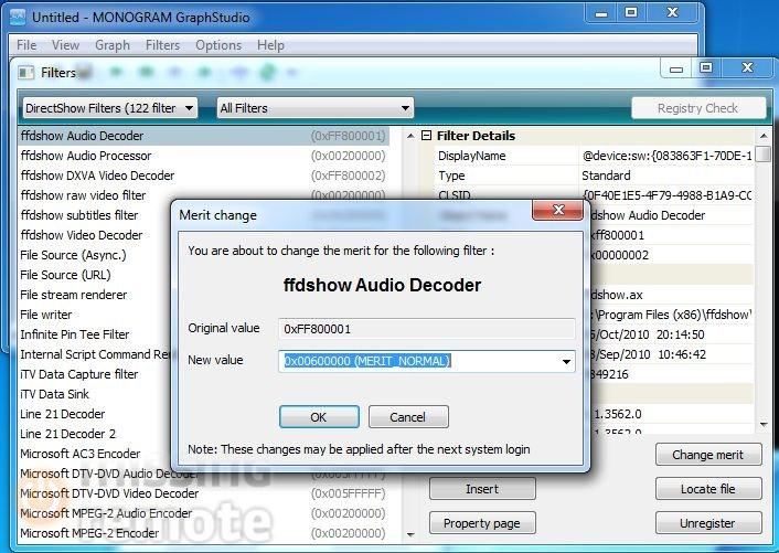 SageTV FFDShow Install