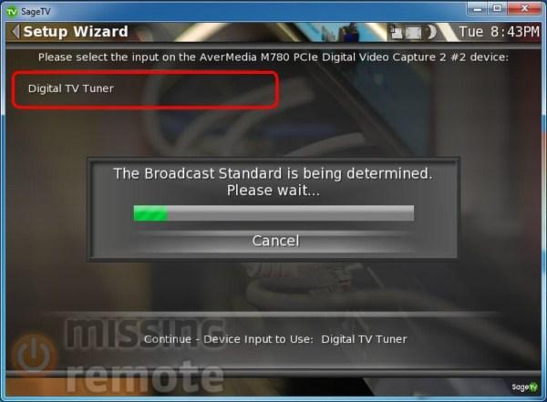 SageTV Client Setup Install