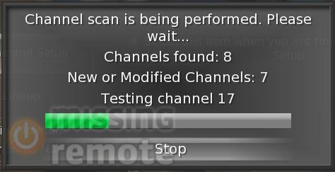 scanning channels