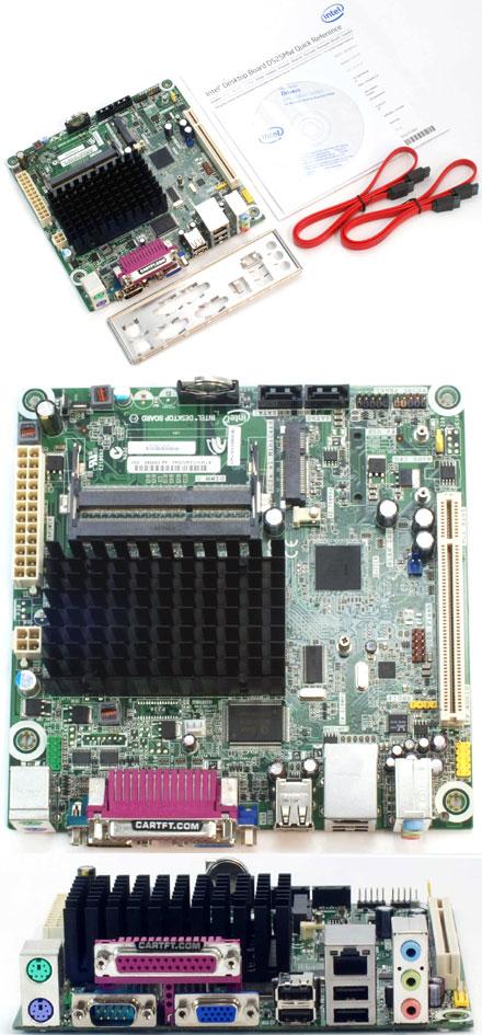 Intel D525MW ~ Intel Atom and 1GB DDR3 RAM Motherboard Mini ITX Bundle VGA