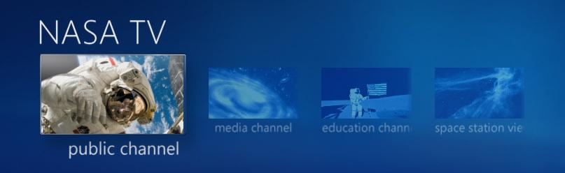 NASA TV for Media Center v2.1