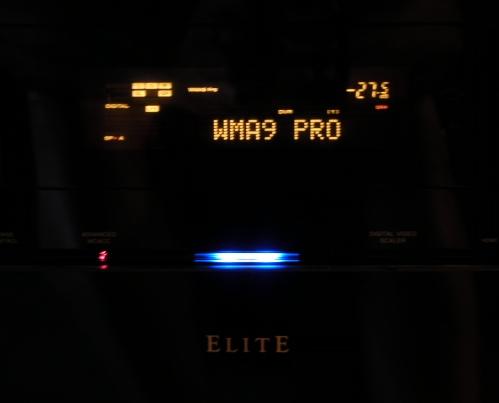 WMA 9 Pro output