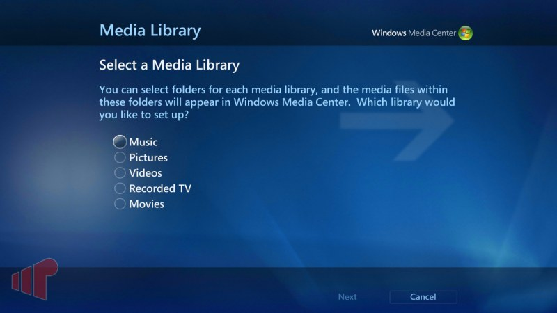 Media Library Page 1